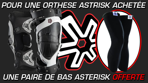 orthese asterisk ultra cell + bas de protection orthese asterisk offert