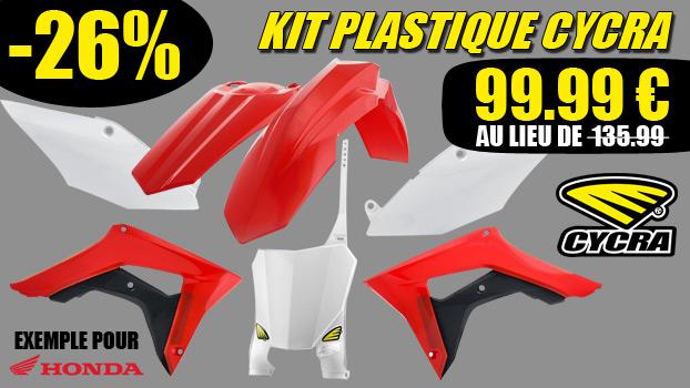26% de remise sur une gamme de kit plastique Cycra