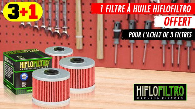 Filtre a huile Hiflofiltro : 1 offert pour 3 achetés