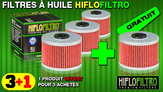 Filtre à huile Hiflofiltro 4 temps moto cross et enduro 3 + 1 gratuit