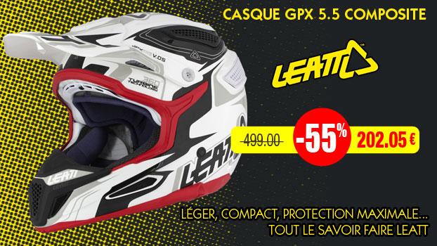 55% sur les casques Leatt
