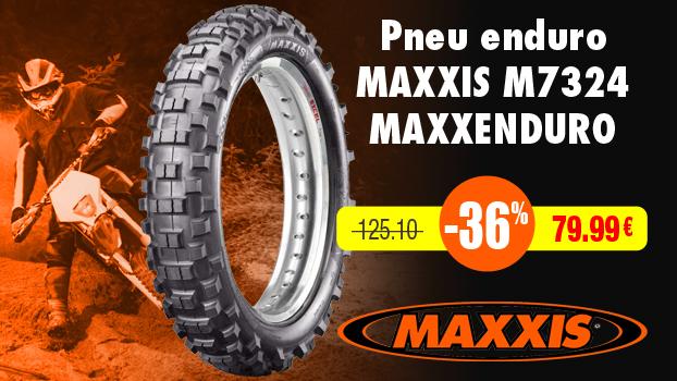 36% de remise sur les Pneus enduro MAXXIS M7324 Maxxenduro