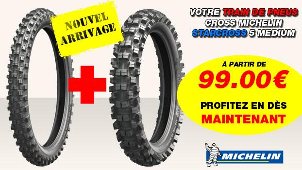 Pneu cross Michelin Starcross 5 Medium