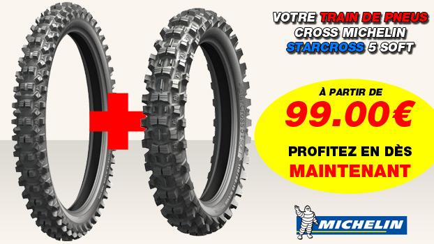 Pneu cross Michelin Starcross 5 Soft