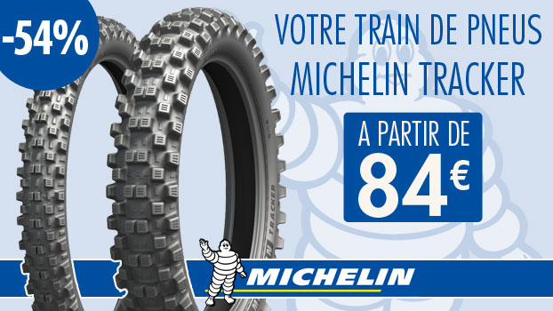 PNEU MICHELIN TRACKER à  -54 %