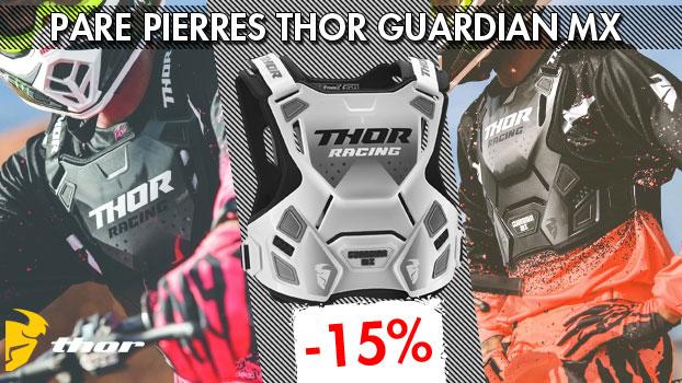 15% de remise sur les Pare pierres Thor Guardian MX