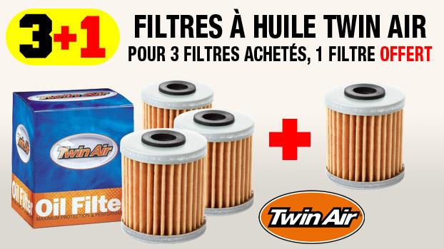 filtre à huile twin air : 3+1 gratuit