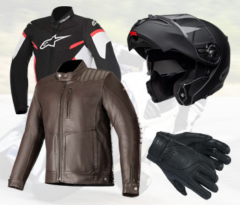 Equipement pilote moto