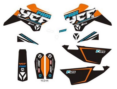 Kit deco YCF