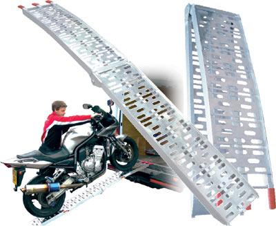 Pour transporter votre moto