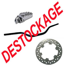 Destockage pieces moto