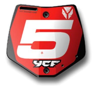 Plaque avant YCF