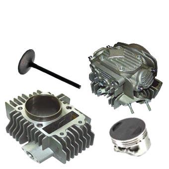 Piece haut moteur YCF