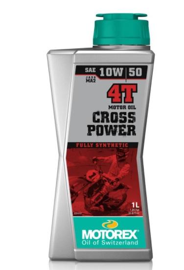 Huile Motorex Cross Power 4T 10W50 1L
