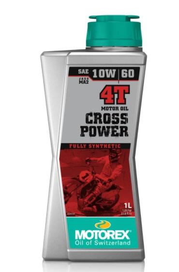 Huile Motorex Cross Power 4T 10W60 1L