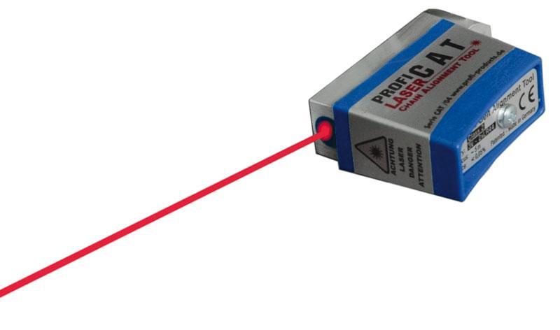 Aligne chaine laser
