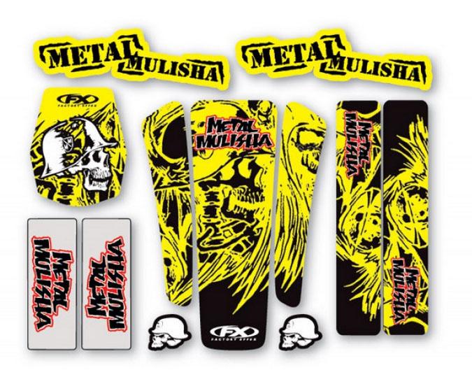 Kit déco universel Suzuki Metal Mulisha II