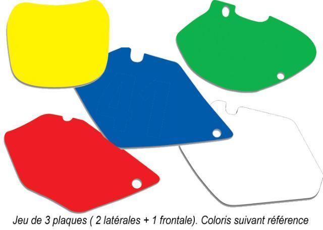 Fonds de plaques Blackbird Racing couleur
