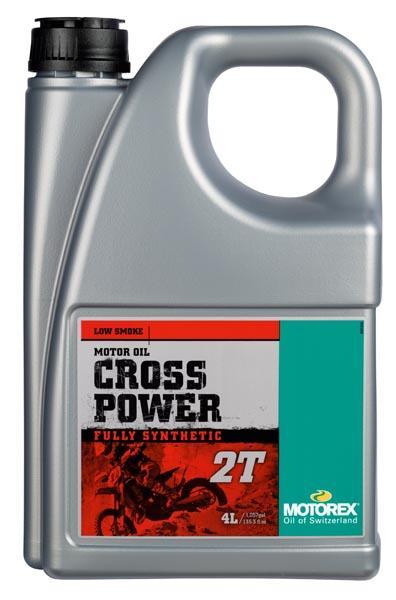 Huile Motorex Cross Power 2T 4L