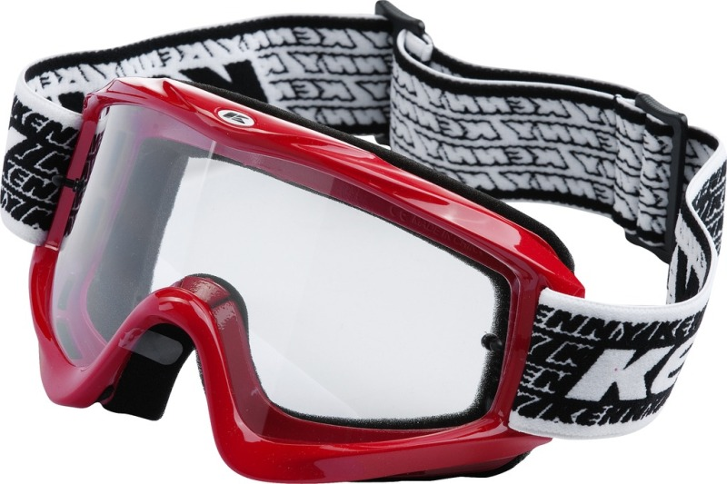 Lunettes cross Kenny Track Rouges