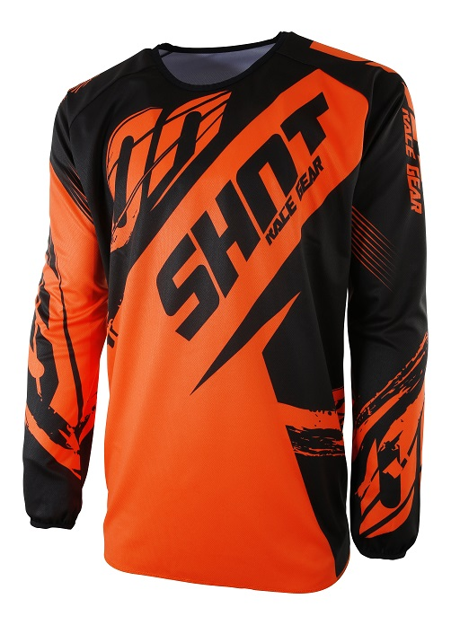 Maillot Enfant Shot 2017 Devo Fast Neon Orange