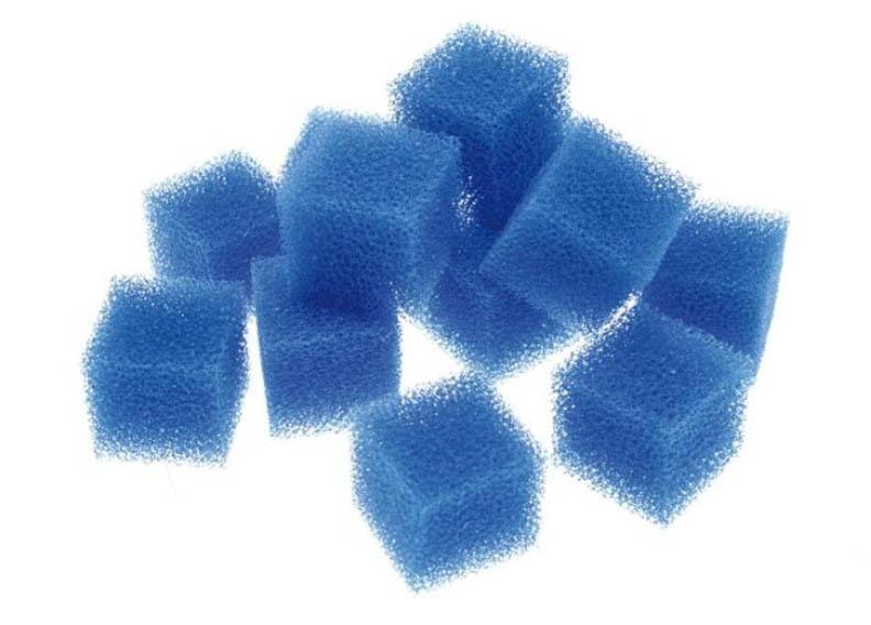 Mousse de reservoir bleu