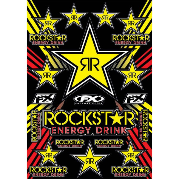 Planche sticker Rockstar