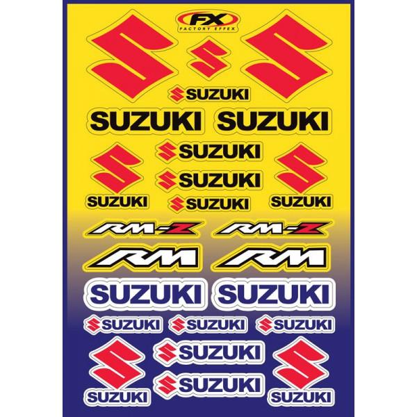 Planche stickers FX Suzuki RM