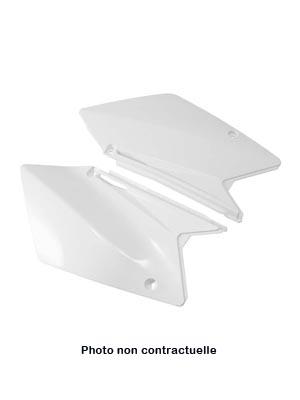 Plaques numero laterales UFO Blanc