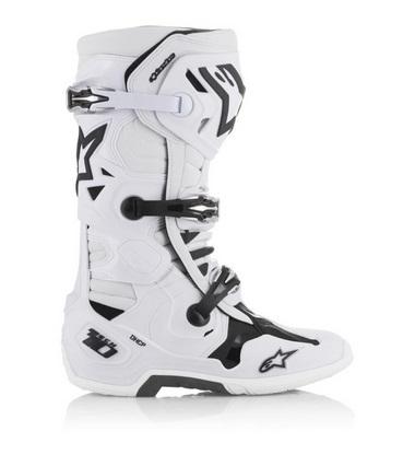bottes alpinestars tech 10 blanc
