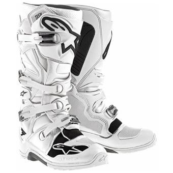 Bottes Alpinestars Tech 7 Blanc