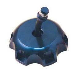 Bouchon de reservoir anodise Bleu Destockage