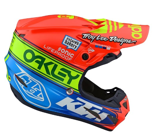 Casque Cross Troy Lee Designs 2019 Se4 Team Edition 2 Oh Motos