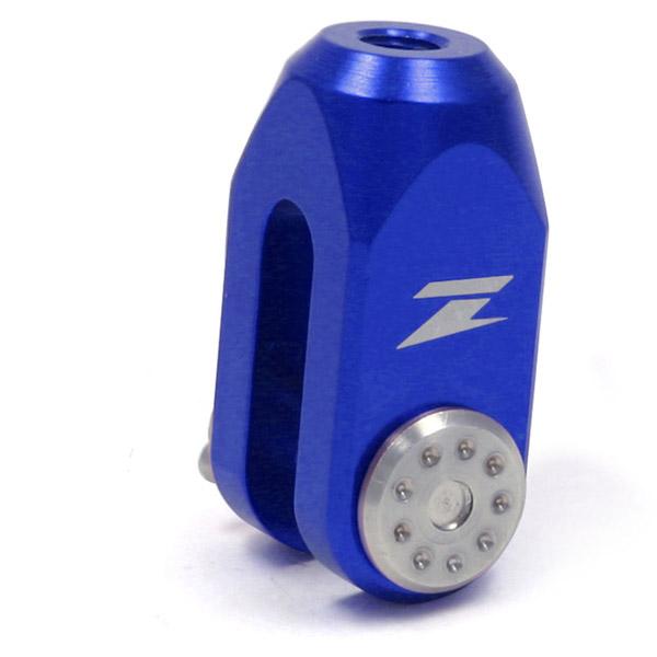 Chape pedale frein Zeta bleu