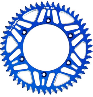 Couronne S-Teel anti-boue bleue 48 dents