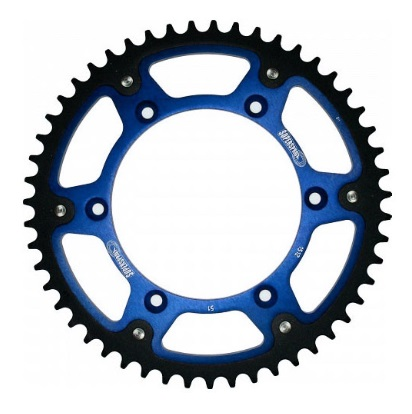 Couronne Supersprox Stealth bleu 50 dents
