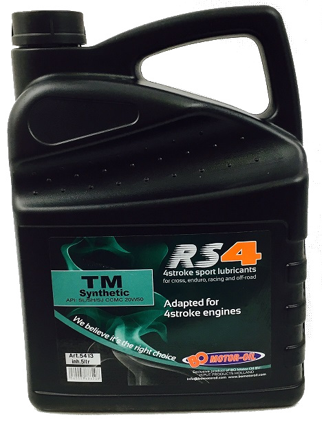 Huile BO Motor-Oil RS4 Synthetic special TM 5L