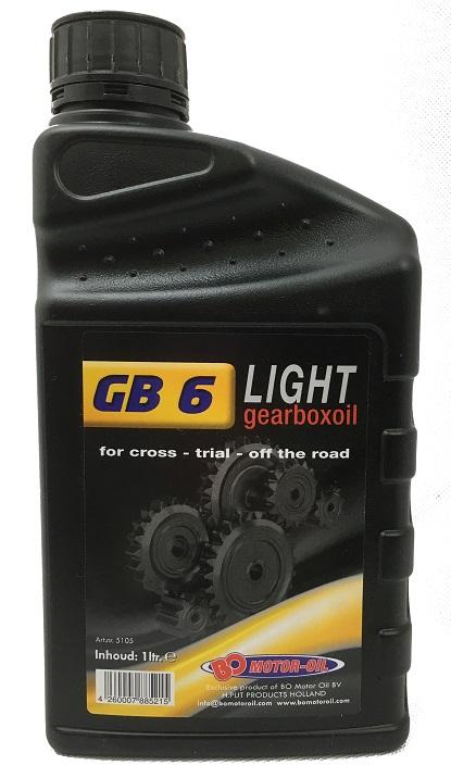 Huile Boite BO Motor Oil GB6 Light 5L