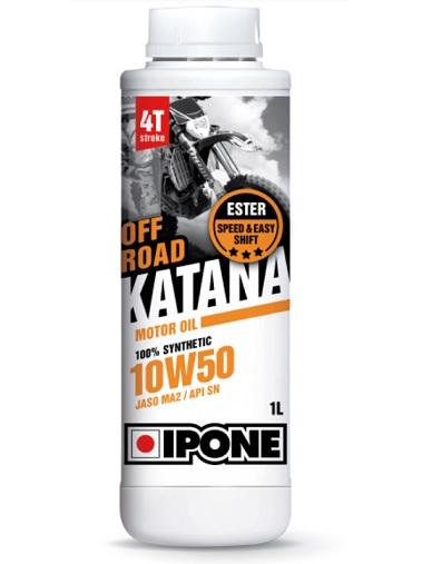Huile Ipone Katana Off Road 10W50 1L