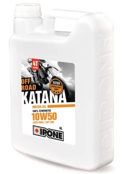 Huile Ipone Katana Off Road 10W50 4L