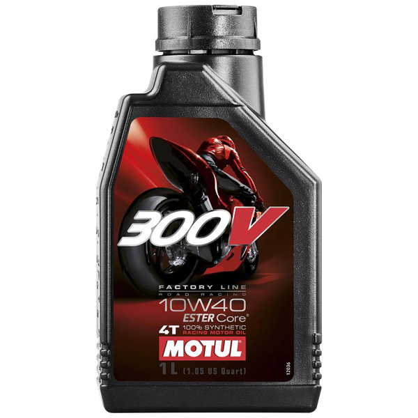 Huile Motul 300V 10W40 Road 1 litre