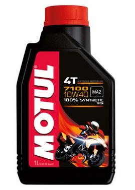 Huile moteur MOTUL 7100 4T 10W40