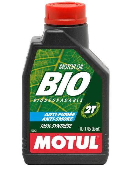 Huile Motul Bio 2T 1L