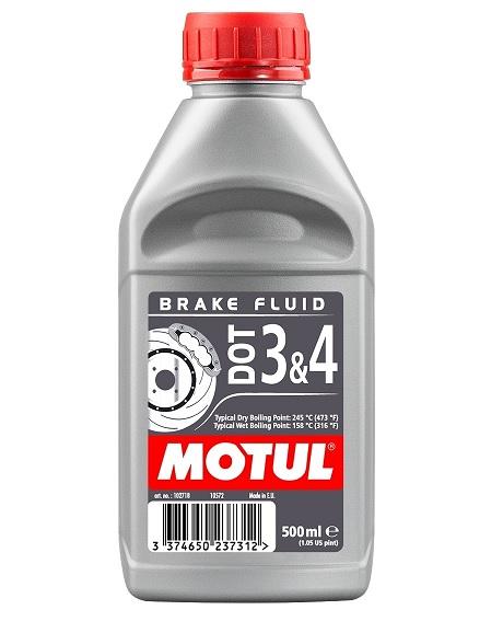 Liquide frein Motul DOT 3&4 500ml