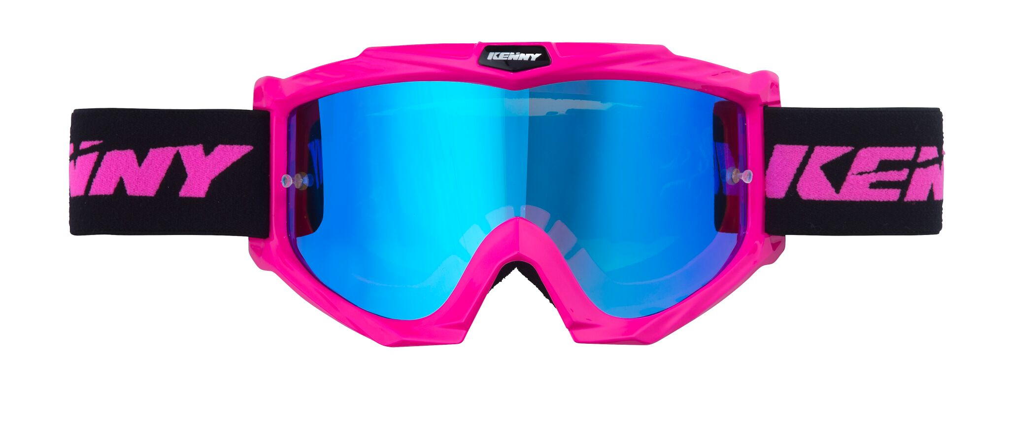 Lunettes Kenny Track Neon Rose Oh Motos