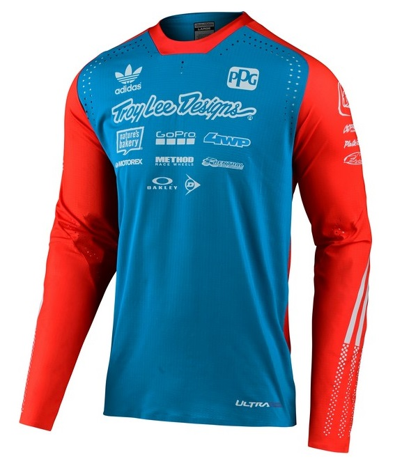 Maillot Troy Lee Designs 2020 SE 4 Ultra ADIDAS OH MOTOS