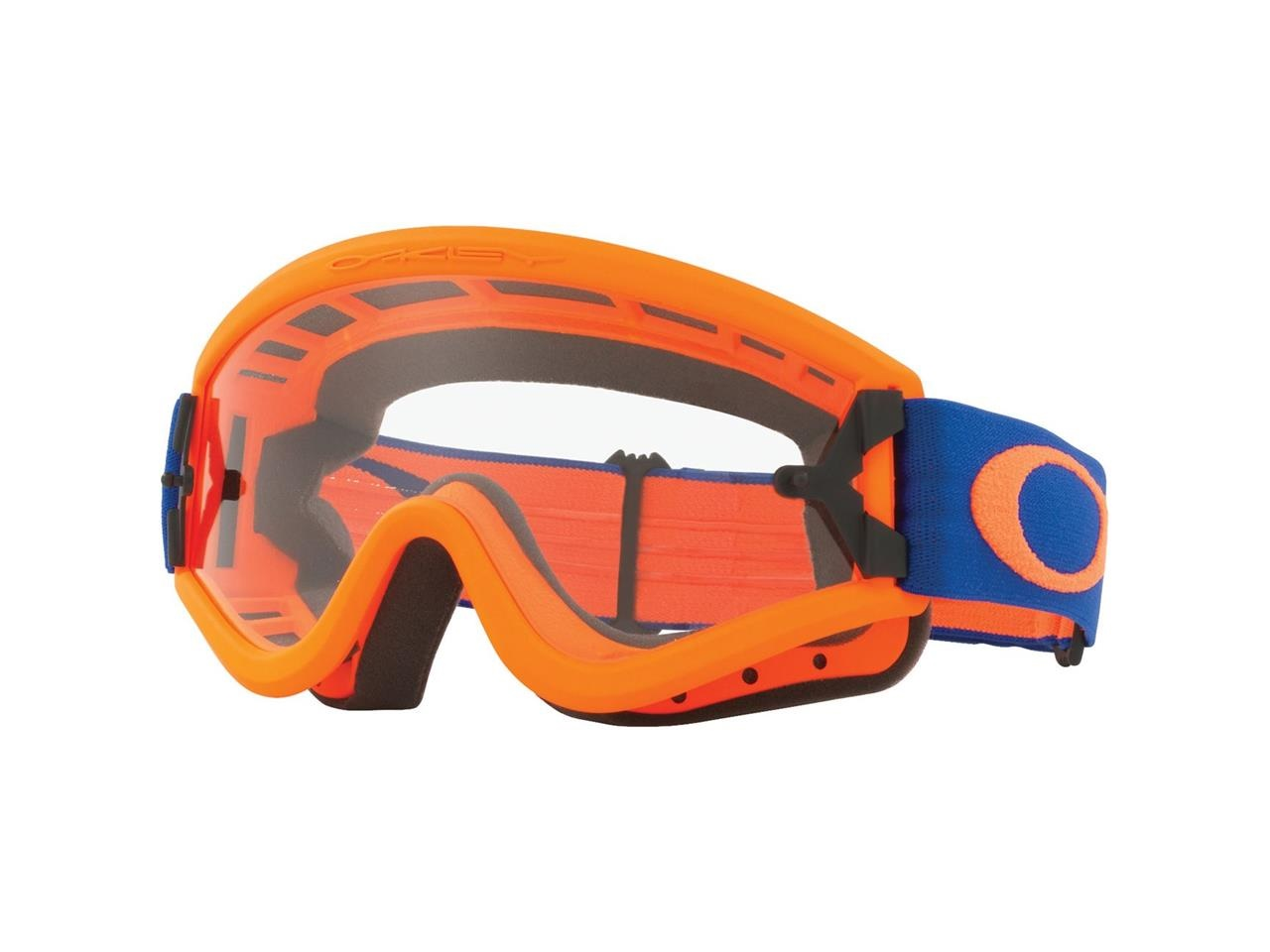 Masque OAKLEY L FRAME Orange Bleu