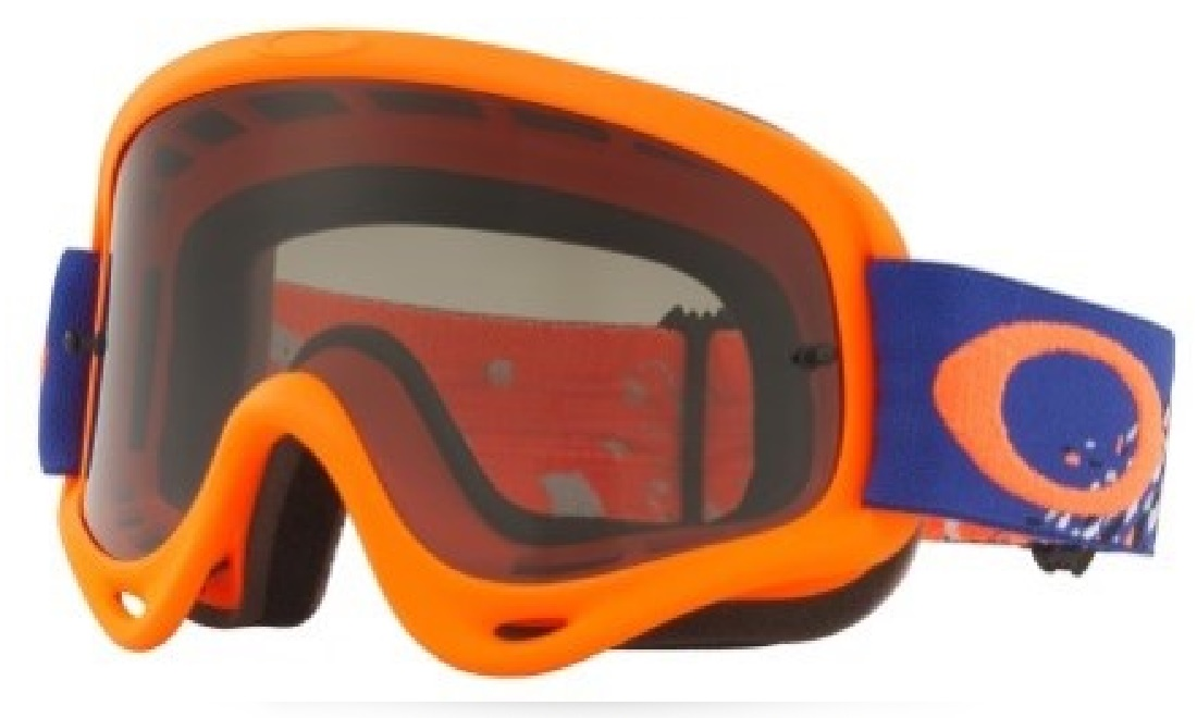 Masque OAKLEY O FRAME Checked Finish Bleu Orange