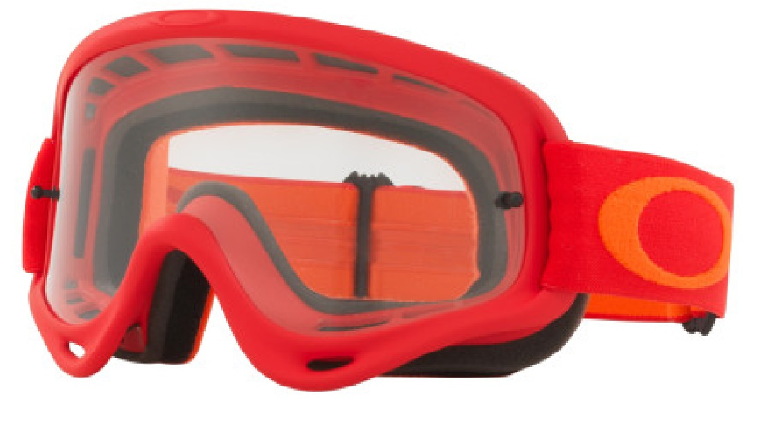 Masque OAKLEY O FRAME Red Orange