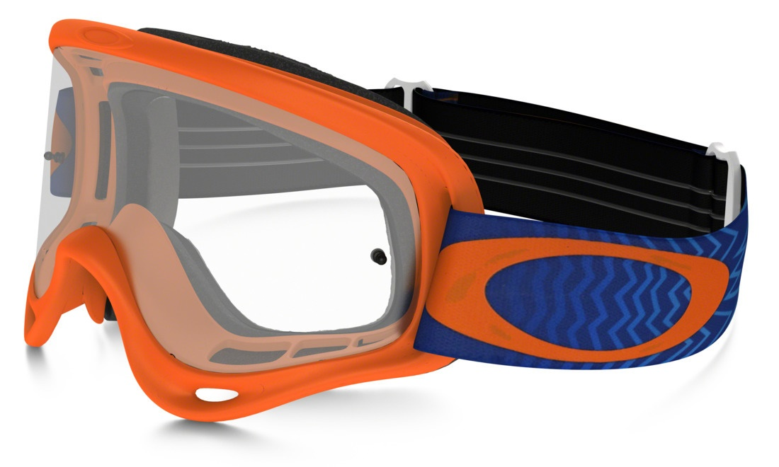 Masque OAKLEY O FRAME Shockwave Orange Bleu